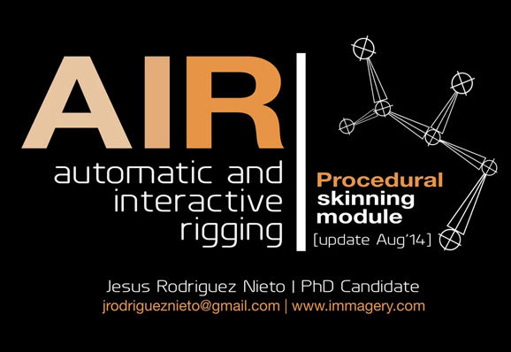 AIR (Automatic and interactive rigging)